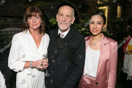 Stock Photo of Doon Mackichan (Sondra), John Malkovich (Barney Fein) and Ioanna Kimbrook (Yung Kim Li)