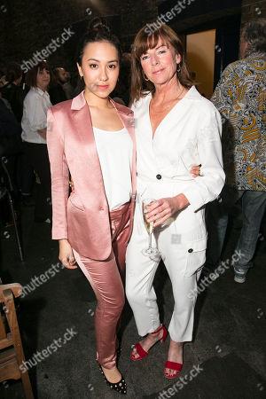Ioanna Kimbrook (Yung Kim Li) and Doon Mackichan (Sondra)