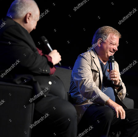 Kevin Burns and William Shatner
