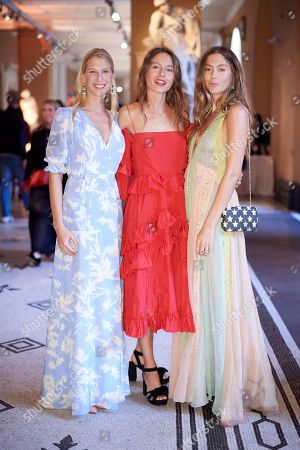 Stock Photo of Lady Gabriella Windsor, Jemima Jones and Quentin Jones
