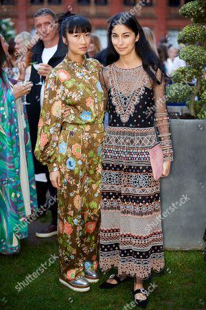 Stock Photo of Mimi Xu and Caroline Issa