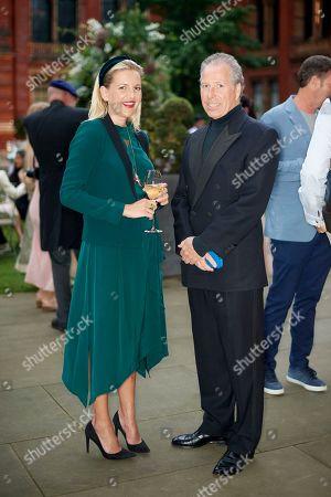 Hanneli Rupert and David Armstrong-Jones, Earl of Snowdon