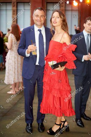 Stock Picture of Ben Goldsmith and Jemima Jones