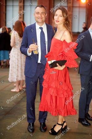 Stock Image of Ben Goldsmith and Jemima Jones