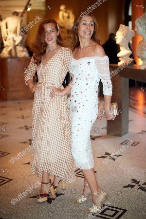 Stock Photo of Charlotte Dellal and Andrea Dellal