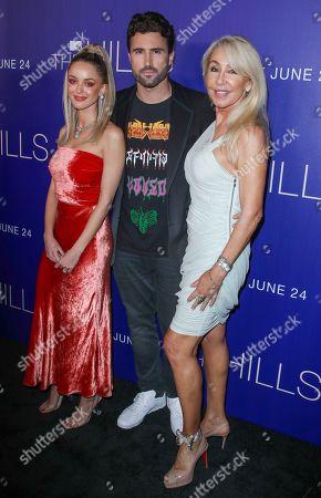 Stock Photo of Kaitlynn Carter, Brody Jenner and Linda Thompson