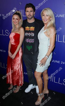 Brody Jenner with wife Kaitlynn Carter Jenner and mother Linda Thompson
