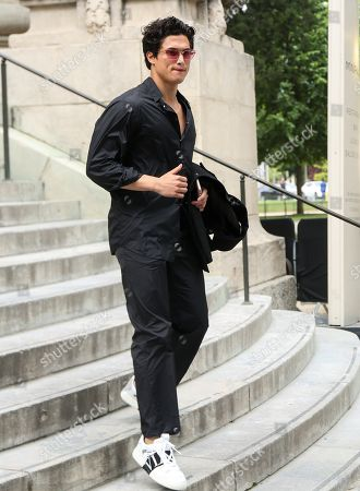 News Pictures Charles Melton attends the Valentino Menswear Spring Summer 2020 show as part of Paris Fashion Week on June 19, 2019 in Paris, France.
