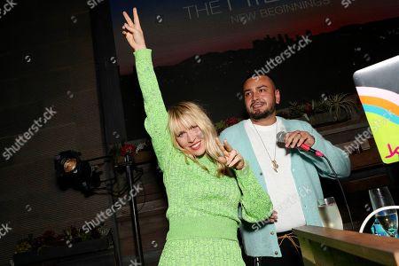 Natasha Bedingfield and Frankie Delgado