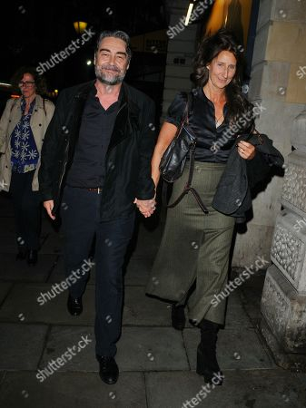 Stock Picture of Nathaniel Parker and Anna Patrick