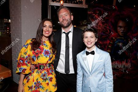 Aubrey Plaza, Lars Klevberg, Director, Gabriel Bateman