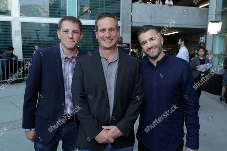 Seth Grahame-Smith, Producer, John Hegeman, President, Orion Pictures, David Katzenberg, Producer,