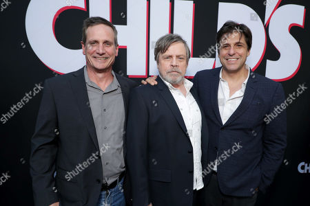 John Hegeman, President, Orion Pictures, Mark Hamill, Jonathan Glickman President of Metro-Goldwyn-Mayer Motion Picture Group,