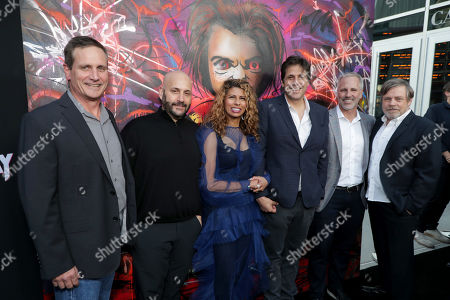 John Hegeman, President, Orion Pictures, Aaron L. Gilbert, Chairman & CEO, BRON Studios, Brenda Gilbert, Co-Founder and President, BRON Studios, Jonathan Glickman President, Metro-Goldwyn-Mayer Motion Picture Group, Guest, Mark Hamill