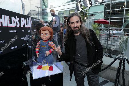 Stock Photo of Bear McCreary, Composer, and Chucky