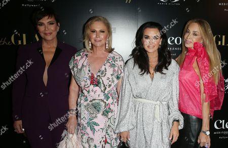 Kris Jenner, Kathy Hilton, Kyle Richards, Faye Resnick