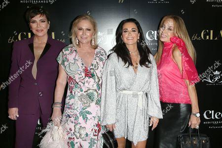 Kris Jenner, Kathy Hilton, Kyle Richards and Faye Resnick