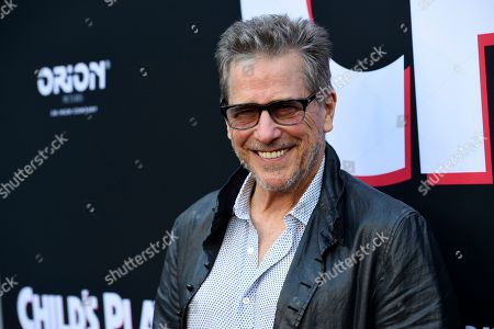 """Tim Matheson, a cast member in """"Child's Play,"""" poses at the premiere of the film at the ArcLight Hollywood, in Los Angeles"""