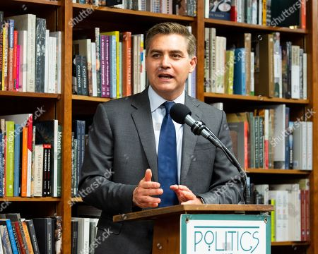 Author Jim Acosta at the Politics and Prose bookstore