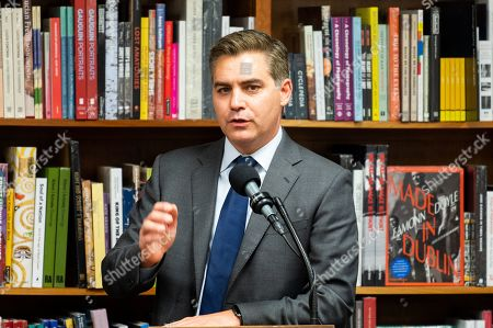 Stock Picture of Author Jim Acosta at the Politics and Prose bookstore