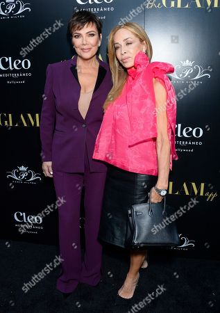 Kris Jenner and Faye Resnick