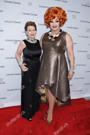 Stock Photo of Adrienne Arsht and Alexis Michelle