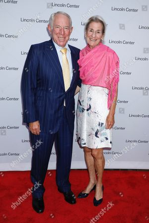 Stock Picture of George Lazarus and Shelly Lazarus