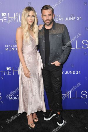 """Ashley Wahler, Jason Wahler. Ashley Wahler, left, and Jason Wahler attend """"The Hills: New Beginnings"""" premiere party at Liaison, in Los Angeles"""