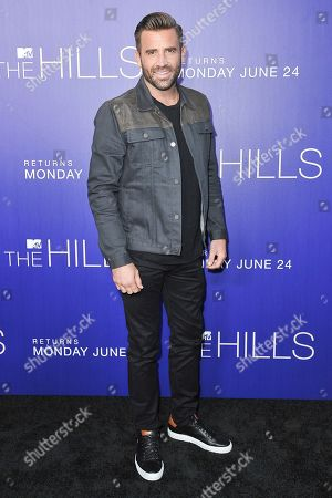"""Jason Wahler attends """"The Hills: New Beginnings"""" premiere party at Liaison, in Los Angeles"""