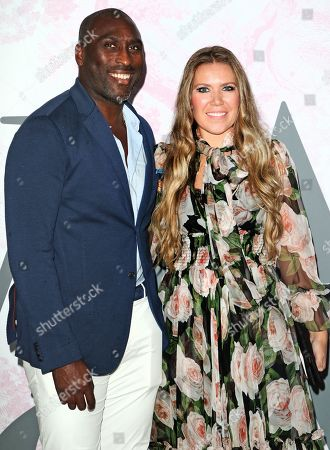 Sol Campbell and wife Fiona Barratt-Campbell