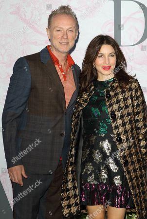 Gary Kemp and Lauren Kemp