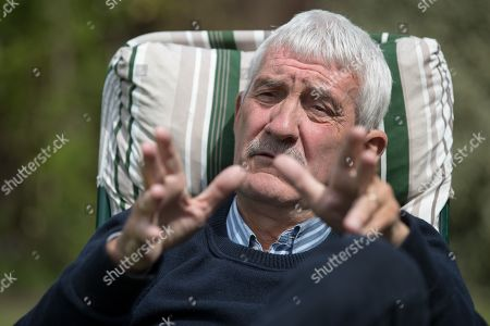 Stock Photo of Terry Mcdermott . Ex-liverpool And England Footballer Terry Mcdermott Talks To Craig Hope.