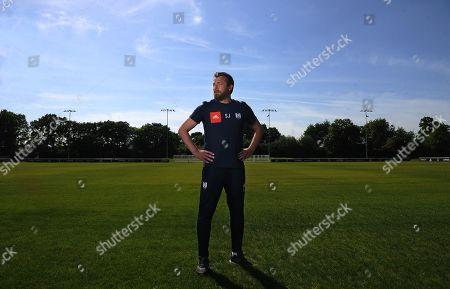 Slavisa Jokanovic . Fulham Manager Slavisa Jokanovic Interview With Simon Jones.