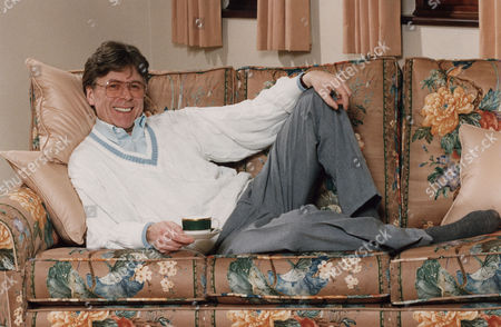 Stock Image of Mike Yarwood - Comedian Relaxing At His Surrey Home - 1993