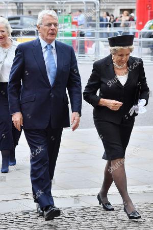Sir John Major and Norma Major