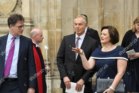 Nick Clegg, Tony Blair, Cherie Blair