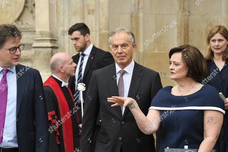Nick Clegg, Tony Blair, Cherie Blair