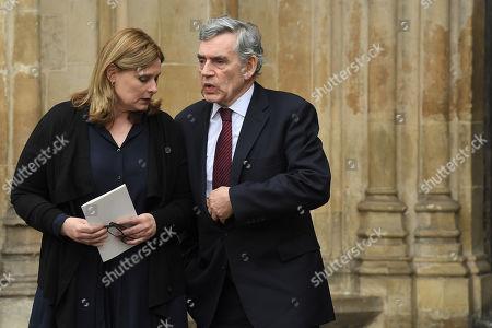 Sarah Brown and Gordon Brown