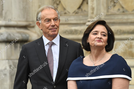 Editorial image of Service of Thanksgiving for Lord Heywood, Westminster Abbey, London, UK - 20 Jun 2019