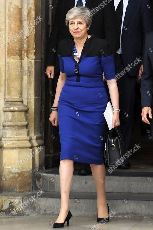 Editorial picture of Service of Thanksgiving for Lord Heywood, Westminster Abbey, London, UK - 20 Jun 2019