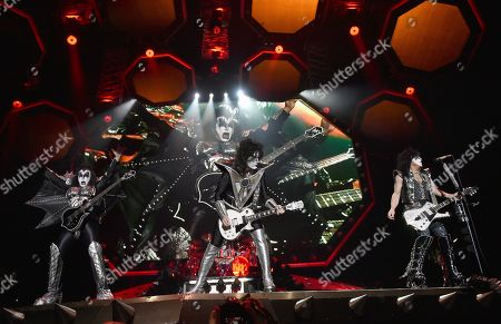 Kiss - Gene Simmons, Tommy Thayer and Paul Stanley