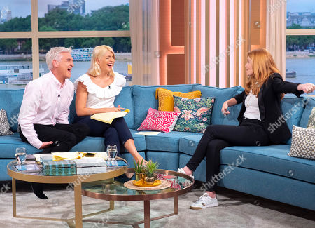 Phillip Schofield and Holly Willoughby with Patsy Palmer