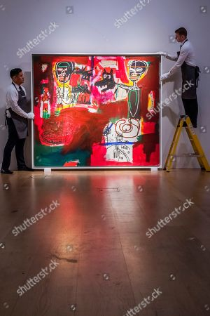 Jean-Michel Basquiat (1960-1988), Sabado por la Noche (Saturday Night), 1984, Estimate: £7,500,000-11,000,000