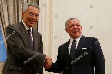King Abdullah II state visit to Singapore
