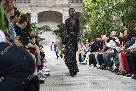 Editorial photo of Amiri - Runway - Paris Men's Fashion Week S/S 2020, France - 20 Jun 2019