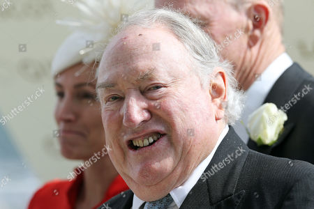 Stock Picture of Portrait of owner Anthony Oppenheimer at Ascot racecourse. Royal Ascot, UK