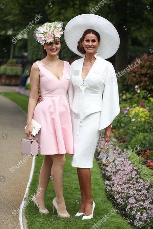 Fashion designer Isabell Kristensen, with her daughter Nichola