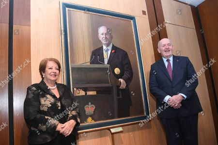 Editorial picture of Unveiling portrait ceremony for outgoing Australian Governor-General Sir Peter Cosgrove, Canberra, Australia - 20 Jun 2019