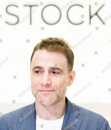 Stock Picture of Slack CEO Stewart Butterfield is seen during the initial public offering for the business team communication company Slack at the New York Stock Exchange in New York, New York, USA, 20 June 2019.