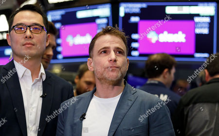 Editorial photo of Slack IPO at New York Stock Exchange, USA - 20 Jun 2019